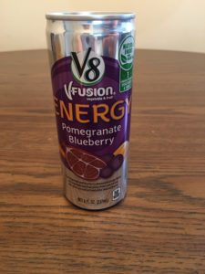 Pomegranate Blueberry V8 VFusion Energy Drink | Aprel Phelps Downey Business Marketing Services