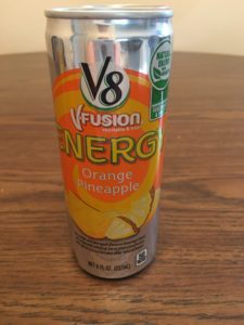 Orange Pineapple V8 VFusion Energy Drink | Aprel Phelps Downey Business Marketing Services