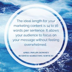 Sentence structure | Aprel Phelps Downey Business Marketing Services