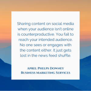 Social Media Audience Attention | Aprel Phelps Downey Business Marketing Services